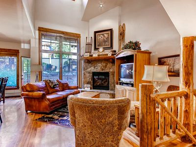 Photo for Cozy, Spacious, and Bright Townhome w/Deck & Garage, Great Summer Getaway