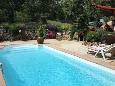Photo for Little piece of heaven in Provence, house + independent apartment