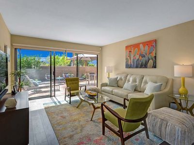 Photo for Donald Wexler Design Condo in Central Palm Springs