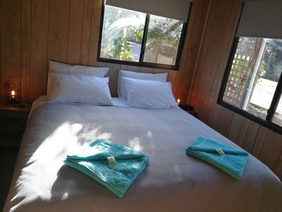 Photo for Charming Self contained Cabin @ Hilltop Cottages - FREE WIFI