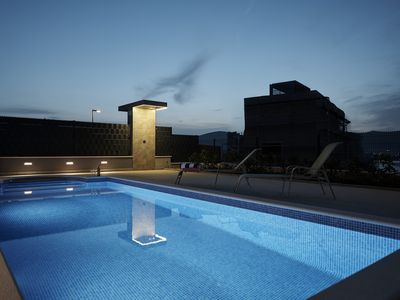 Photo for Luxury apartment with pool