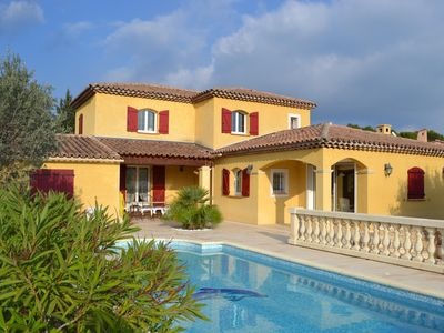Photo for VERY BEAUTIFUL CONTEMPORARY PROVENCAL VILLA WITH SWIMMING POOL
