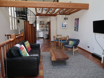 Photo for Centrally Located, Large Venice Beach Apartment with Bedroom Loft.