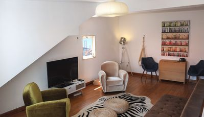 Photo for Quiet and Sunny central Lisbon apartment with terrace