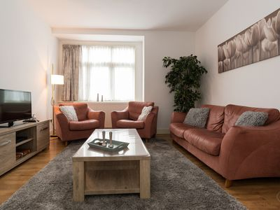 Photo for Spacious two bedroom apartment with a fantastic roof terrace, for up to four people, in Amsterdam No