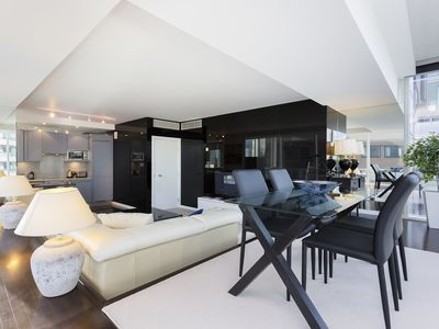 Photo for Sleek and modern 1 bed apartment, featured in James Bond's Spectre! (Veeve)