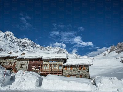 Photo for Ski apartments to rent located in a traditional stone house with panoramic terrace