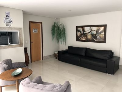 Photo for Beautiful Beachfront Apt at Praia do Morro, available for New Year's Eve