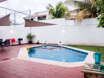 Photo for 4 bedrooms house with private pool in the best location - Casa Relampago