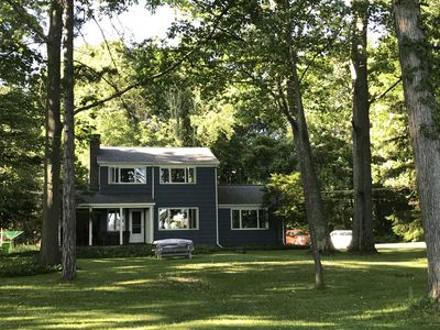Photo for Finger Lakes Rental on Otisco Lake, 4 Bedrooms, 100 Feet Level Lake Front,