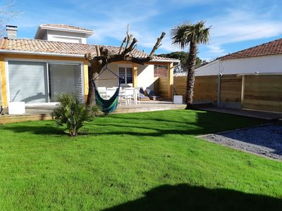 Photo for Beautiful villa overlooking the Bassin 6 people