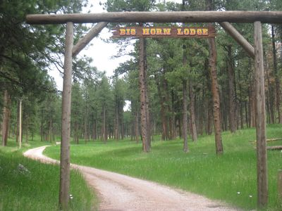 Photo for RARE CABIN BORDERING CUSTER STATE PARK ~ ABSOLUTE SECLUSION AND SERENITY!!