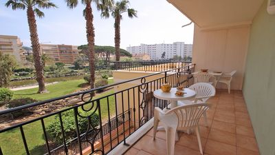 Photo for Apartment T2 - 4 people - Swimming pool residence - WiFi - Air conditioning - Sainte Maxime