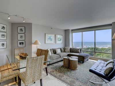 Photo for Enjoy a tranquil stay at this condo with pools, hot tub, & oceanfront views!