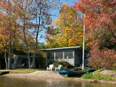 Photo for Lakefront Rental in Lenox!! FOLIAGE, tranquility, beauty.