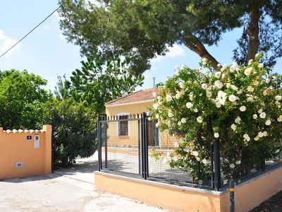 Photo for Between orange and lemons. Cozy house 1 min from Orihuela and 20 m from the beach