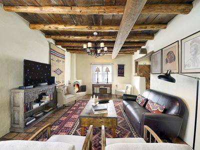 Photo for Authentic 1924 Historic Adobe Home - AC - Accommodates Six - Walk to Everything