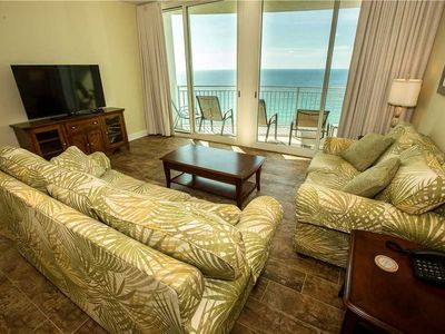 Photo for 16th Floor Tropical Condo w/ Ocean Front View & Close To Pier Park!