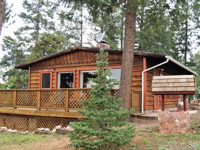 Photo for Cozy Cabin w/ View of Pikes Peak