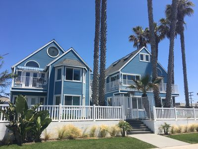 Photo for Perfect View Beach House Location! Steps from Ocean Beach Sand Dollar Cottage