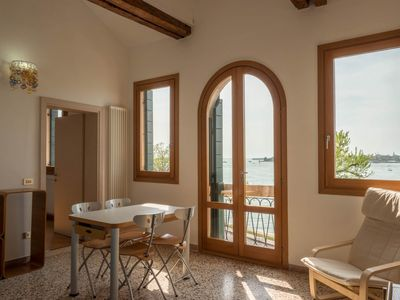 Photo for Ca 'Nicoletto, apartment on the Lido with a splendid view over the lagoon