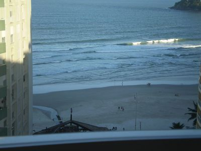 Photo for 1Dorm. Pitangueiras-Guarujá great location, wide view of the beach