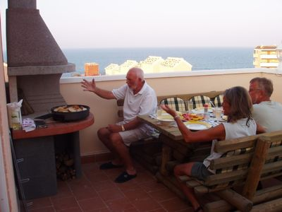 Photo for 5 Beds bungalow near the beach with a brilliant view to the sea,