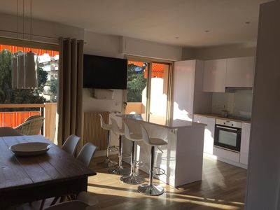 Photo for 3 room apartment, 300 m from the beach, in residential area