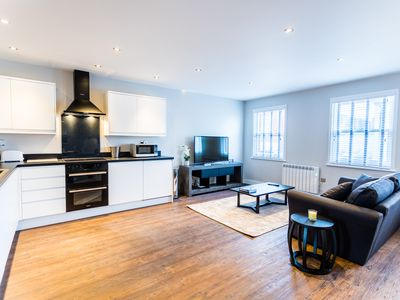 Photo for Wessex Suite - Luxury Serviced Flat in Old Town