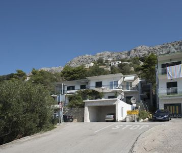 Photo for Apartment in Brela (Makarska), capacity 4+1