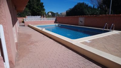 Photo for T2 fully equipped in residence with swimming pool 600 m from the sea