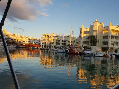 Photo for Puerto Marina Sun & Beach - Terrace and Parking