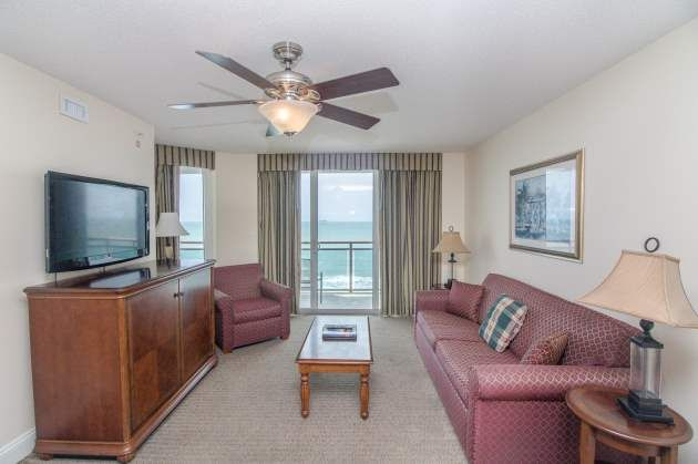 Clean Condo With Granite Counters, Triple Sheeting, Amazing Oceanfront  Views In North Myrtle Beach