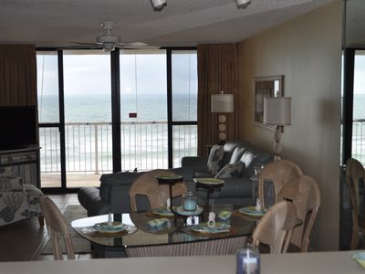 Photo for Beautiful Oceanfront and 2 Bed 2 Bath Condo!