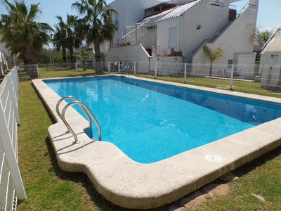 Photo for Penthouse 150 meters from the sea with pool ideal for relaxing