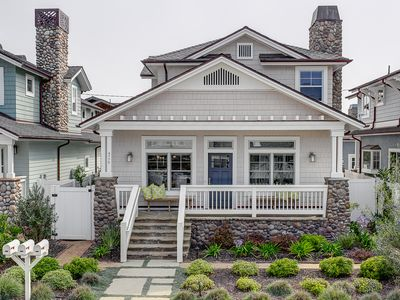 Photo for Just two blocks to the beach! Stunning house walking distance to downtown