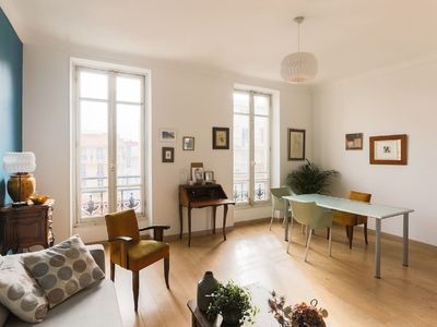 Photo for Magnificent charming apartment in the center of Nice