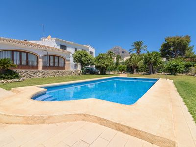 Photo for Wonderful private villa for 8 guests with private pool, TV, balcony and parking