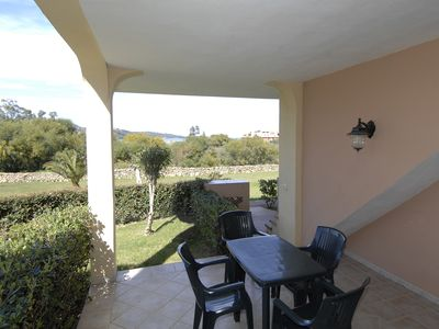 Photo for EUC 116_Apartment with sea view and swimming pool surrounded by greenery.