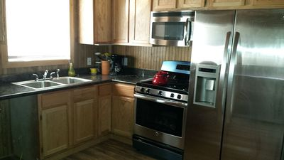 Full Kitchen with all amenities to prepare meals.