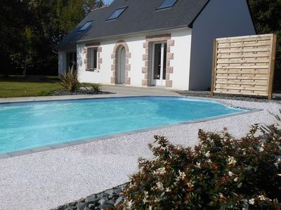 Photo for House with heated pool, spa and sauna, large garden