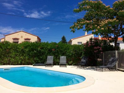 Photo for House completely renovated with swimming pool, garden, parking in Argelès