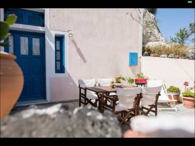 Photo for Santorini Cave Houses - Traditional Village 4-16 persons