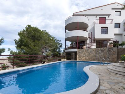 Photo for GUINDA DE PASTEL - Villa with private pool in Cullera.