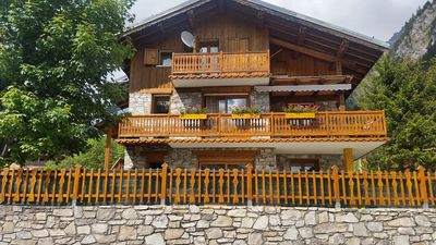 Photo for Apartment in chalet 4 pers. in the heart of the Vanoise National Park