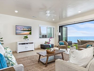 Photo for New Luxury Oceanfront Rental, Designer Decorated