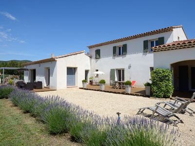 Photo for Beautiful and large house with swimming pool in quiet, heart of Luberon