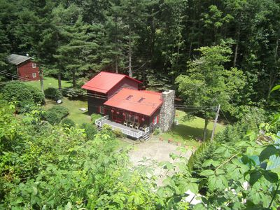 Photo for Fabulous 3BR/2BA Lodge on Roaring Creek in Maggie Valley