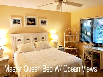 Newly Renovated Queen Bed With TV, Private Wifi, Ceiling Fan, AC, Ocean View