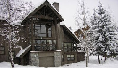 Pinnacle Ridge Exterior in Winter